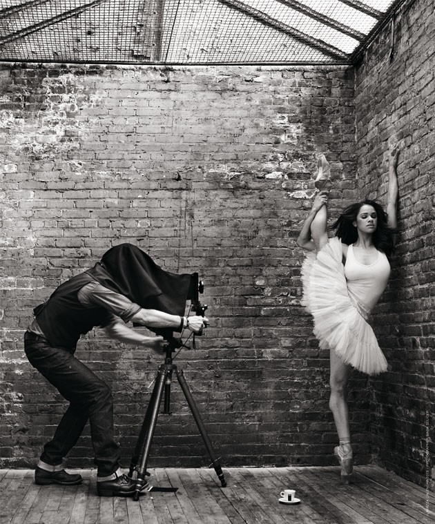 Август Lavazzers. Фоторгаф Mark Seliger