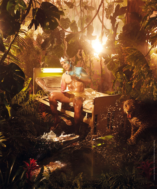 Ноябрь Lavazzers. Фоторгаф David LaChapelle